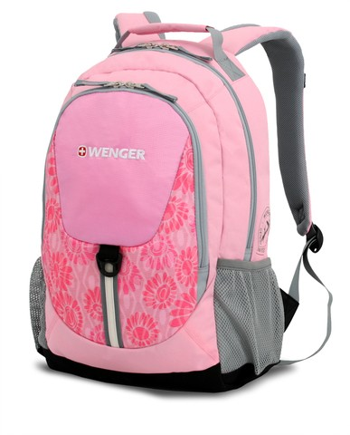 Рюкзак Wenger, розовый, 32х14х45 см, 20 л