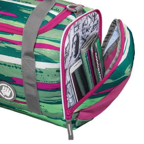 Сумка спортивная Coocazoo SporterPorter Bartik зеленый/розовый