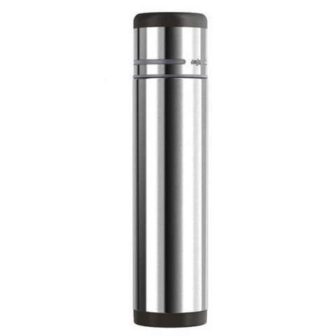 Термос Emsa Mobility (1 литр), черный/стальной*