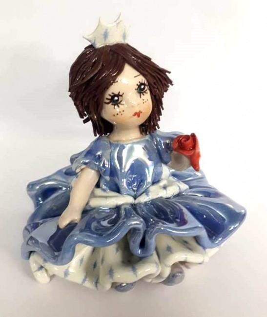 Фарфоровая статуэтка «Девочка принцесса» Zampiva