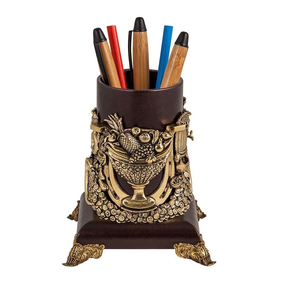 Подставка для ручек «Рог изобилия» подарок руководителю на стол