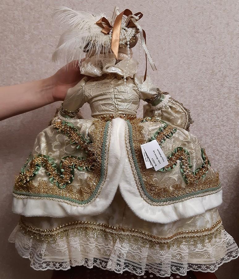 Новогодняя кукла «Леди Мышь» символ 2020 года