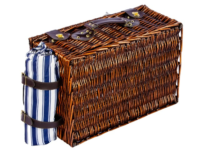 Набор для пикника подарочный «Лоза» на четыре персоны