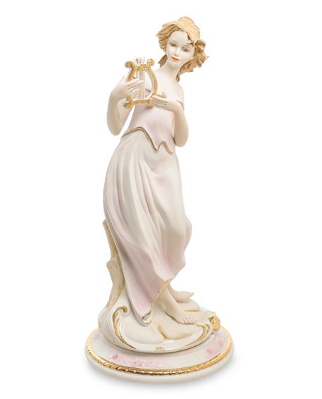 Фарфоровая статуэтка «Девушка с арфой» S. V. Sabadin