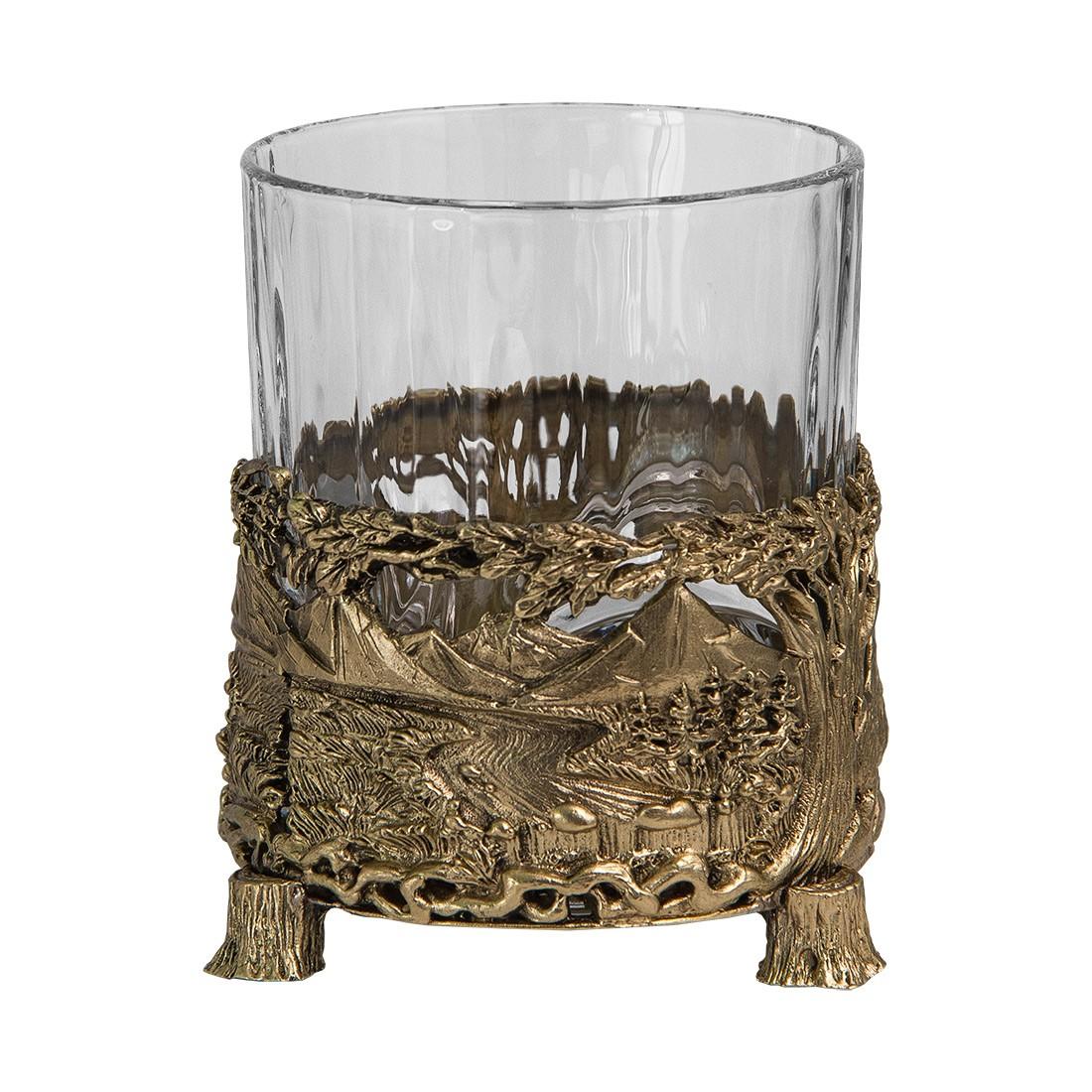 Набор из 2-х бокалов для виски «Медведь»