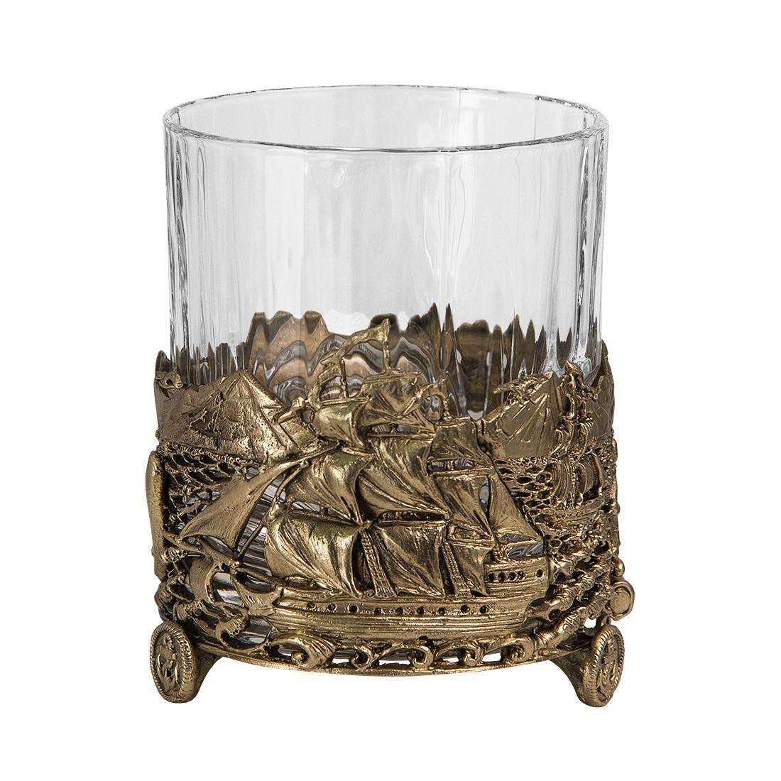 Набор из 2-х бокалов для виски «Парусник»