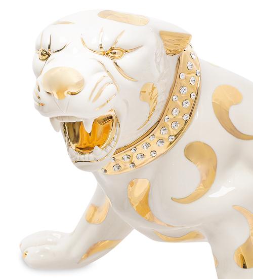 Фарфоровая статуэтка «Белая пантера» S. V. Sabadin