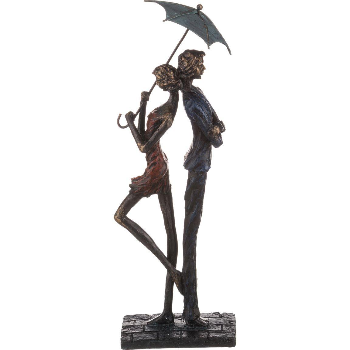 Статуэтка «Свидание под дождем»