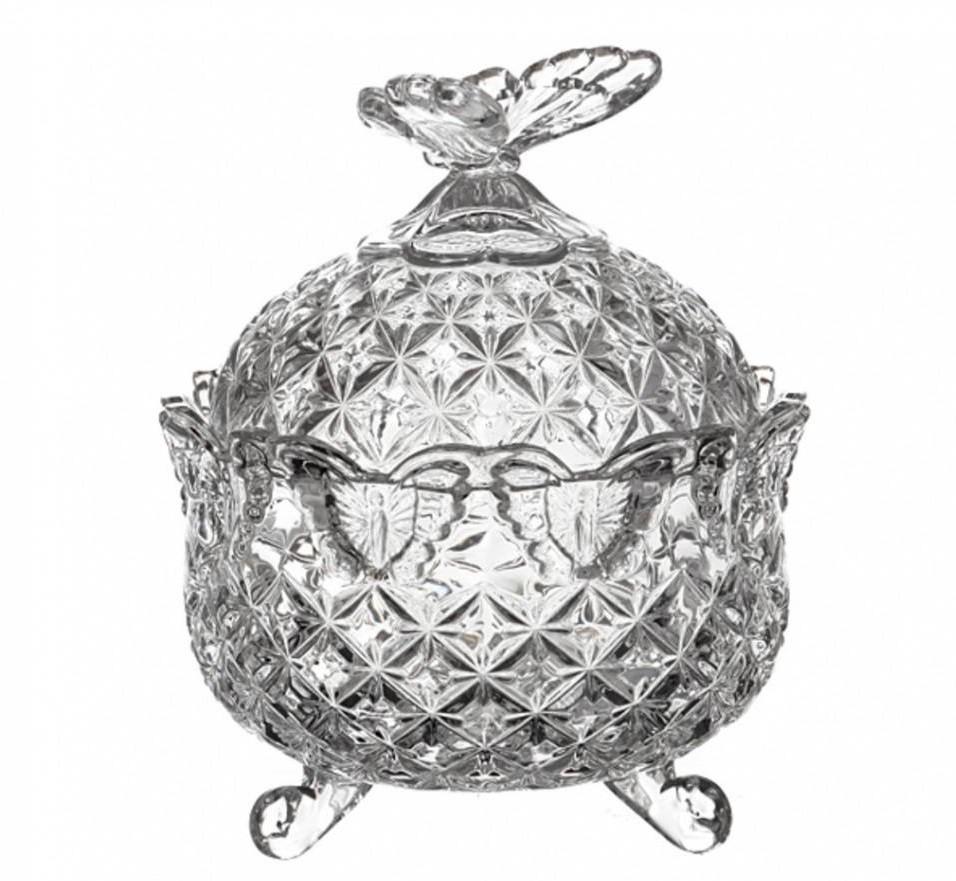 Хрустальная шкатулка Crystal Bohemia «Бабочка»