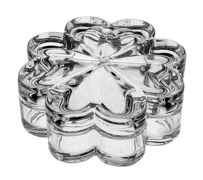 Хрустальная шкатулка Crystal Bohemia «Цветок»