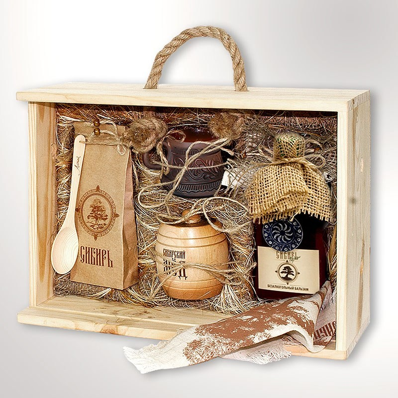 Подарочный набор для женщин «Сибирь. Мед»