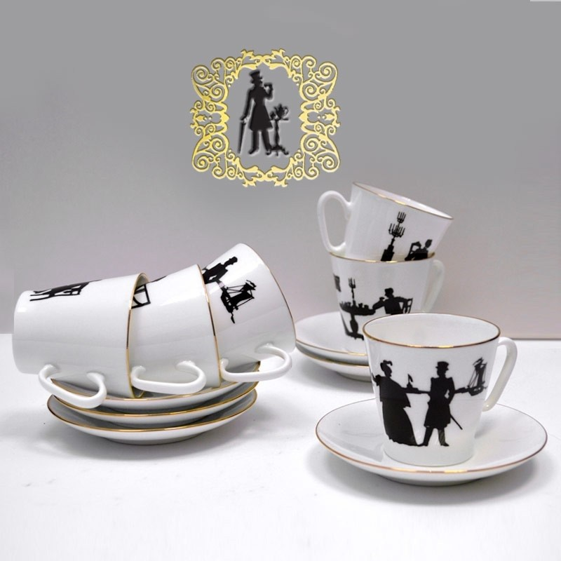 Подарочный набор «Кофейный» с книгой «Россия в афоризмах, стихах и цитатах»