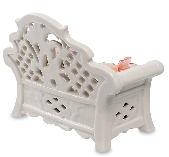 Фарфоровая статуэтка «Музыкальная скамейка»