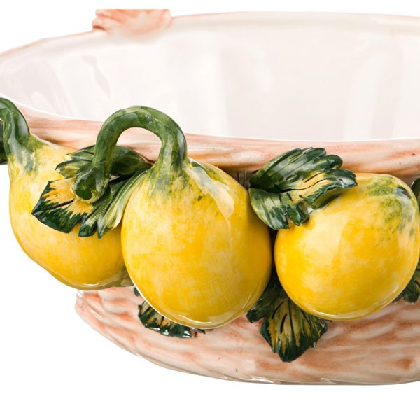 Декоративная корзина «Лимоны»