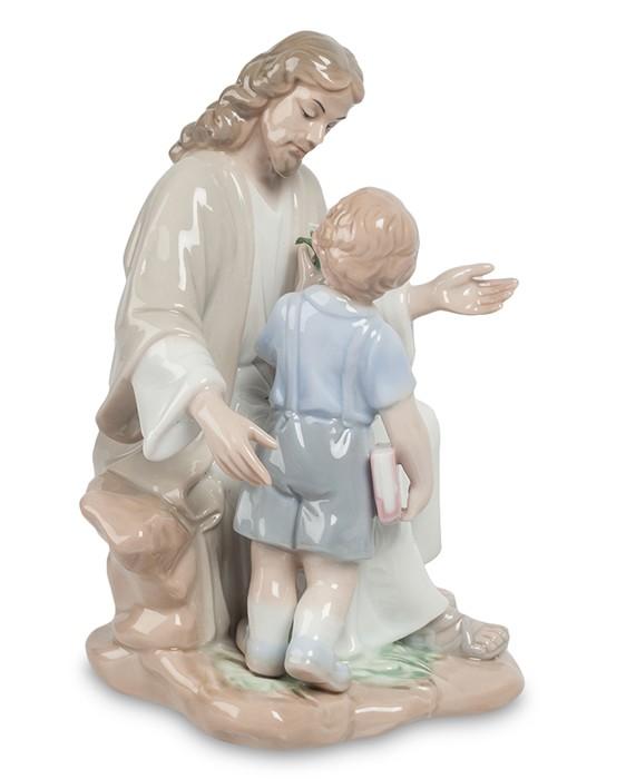 Фарфоровая статуэтка «Наставления Христа»