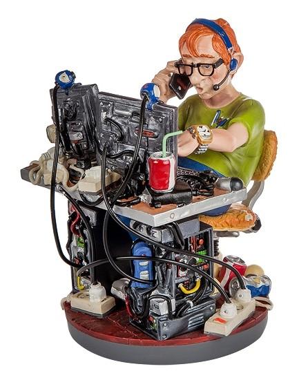 Статуэтка «Программист-компьютерщик»