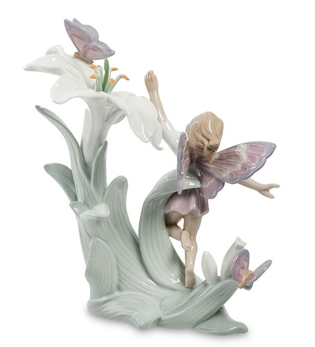 Фарфоровая статуэтка «Цветочная фея»