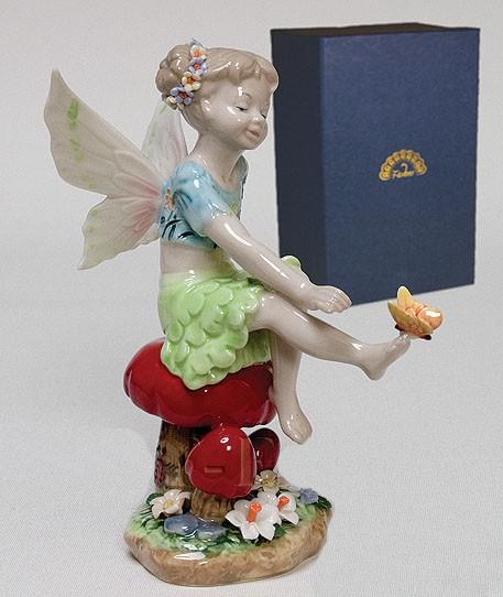 Фарфоровая статуэтка «Лесная Фея»