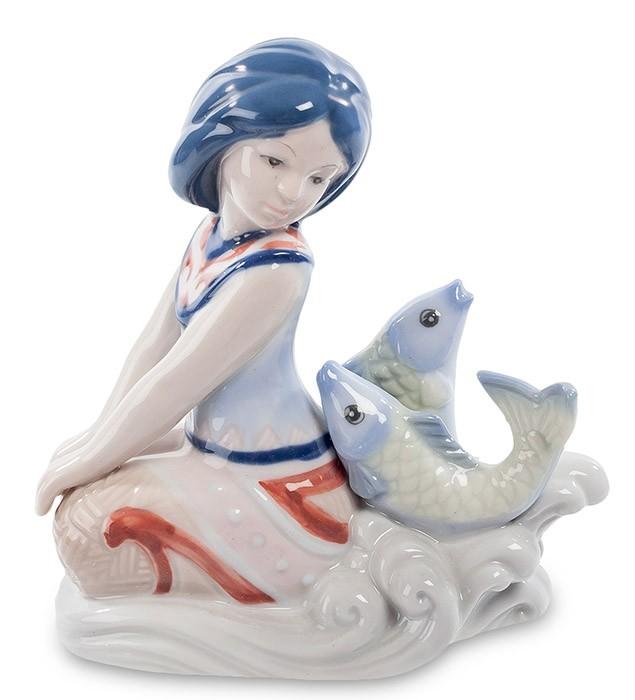 Фарфоровая статуэтка знак зодиака «Рыбы»