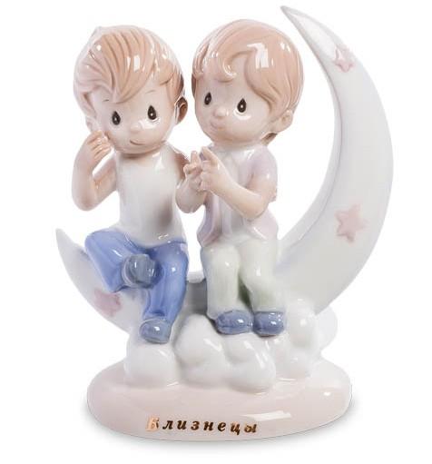 Фарфоровая статуэтка знак зодиака «Близнецы»