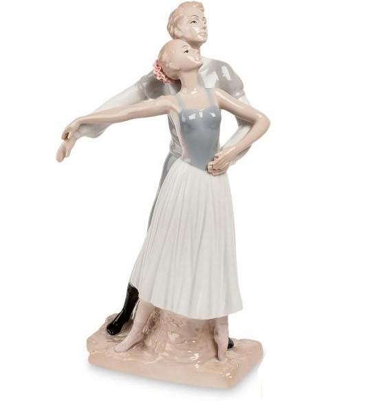 Фарфоровая статуэтка «Балетный дуэт»