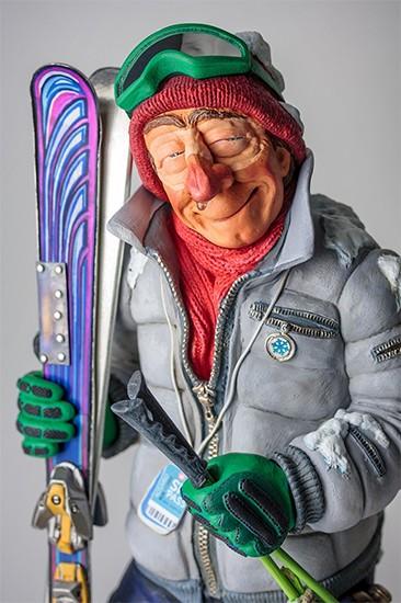 Лыжник. Коллекция Форчино