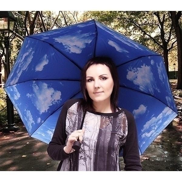 Зонт оригинальный «Небо с облаками»