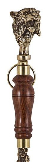 Ложка для обуви «Рысь» с деревянной ручкой