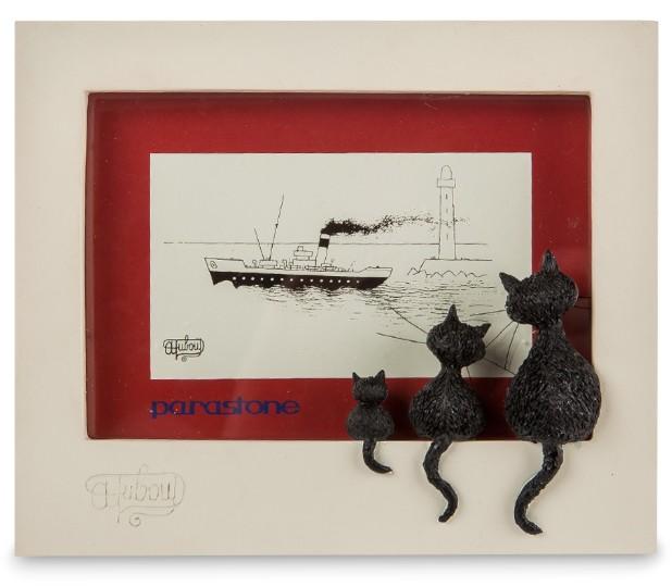 Фоторамка «Семья кошек»