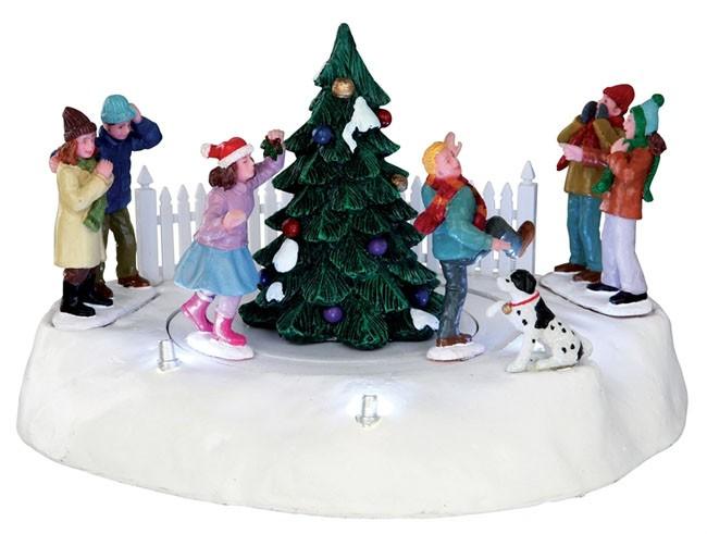 Новогодняя настольная композиция «Праздник у елки»