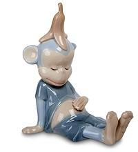 Фарфоровая статуэтка «Обезьяна»