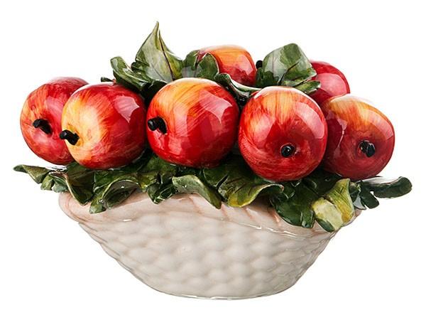 Декоративная корзина «Яблоки»