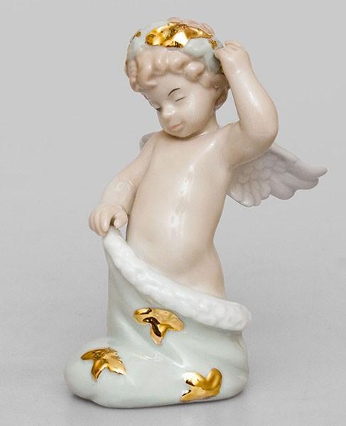 Фарфоровая статуэтка «Рождественский Ангелочек»