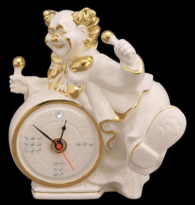 Часы «Клоун с барабаном»