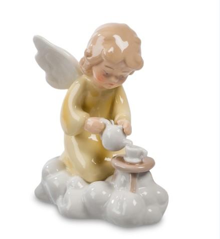 Фарфоровая статуэтка «Ангел на облаке»
