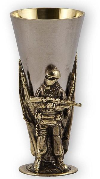Набор стопок «Слава Русскому Оружию. Офицер, Комбат, Спецназ»
