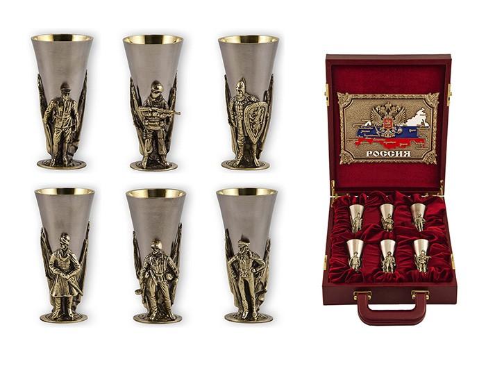 Подарочный набор стопок «Слава Русскому Оружию»