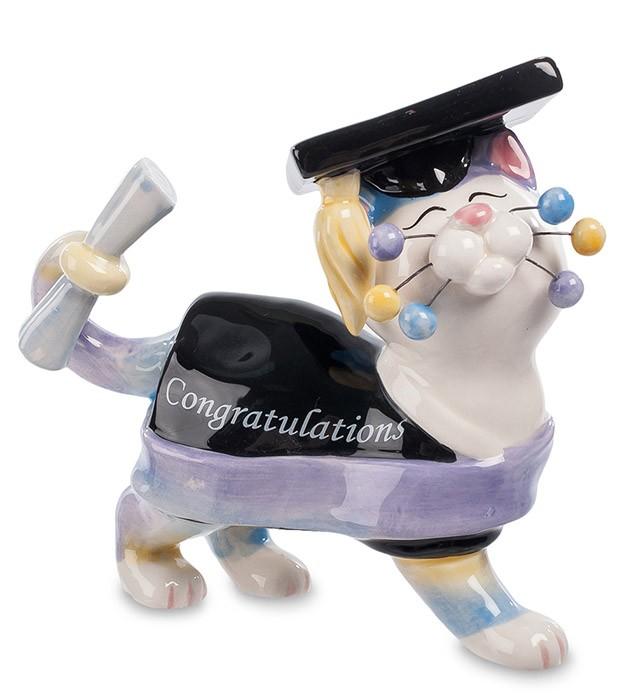 Фарфоровая статуэтка «Великий магистр Кот»
