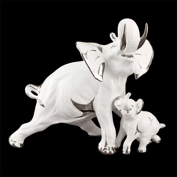 Статуэтка «Слоны. Семья»
