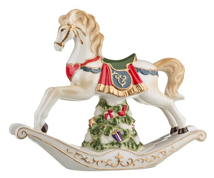 Статуэтка «Новогодняя лошадка»