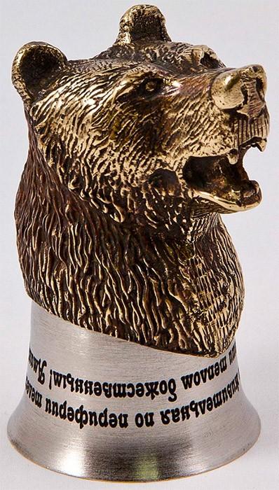 Стопка-перевертыш «Медведь» СП-01КМ(вариант)