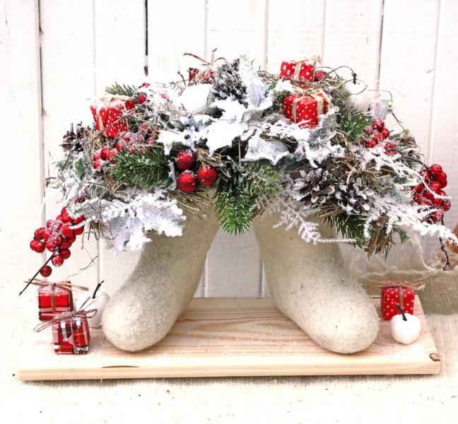 Рождественская композиция «Русская зима»