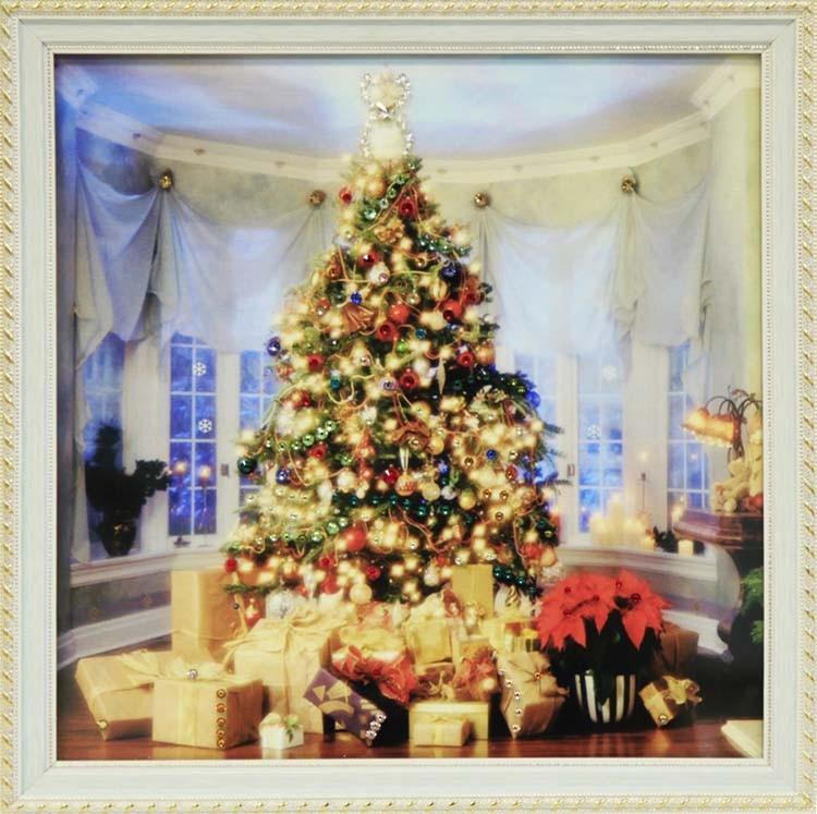 Картина Swarovski «Новогодний праздник»