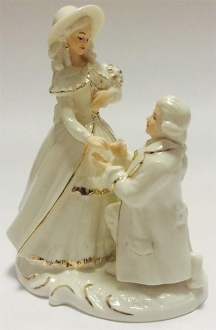 Фарфоровая статуэтка «Пара»
