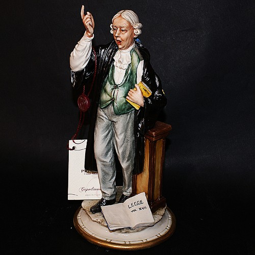 Фарфоровая статуэтка «Юрист»