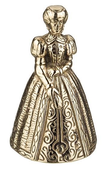Колокольчик сувенирный «Дама»