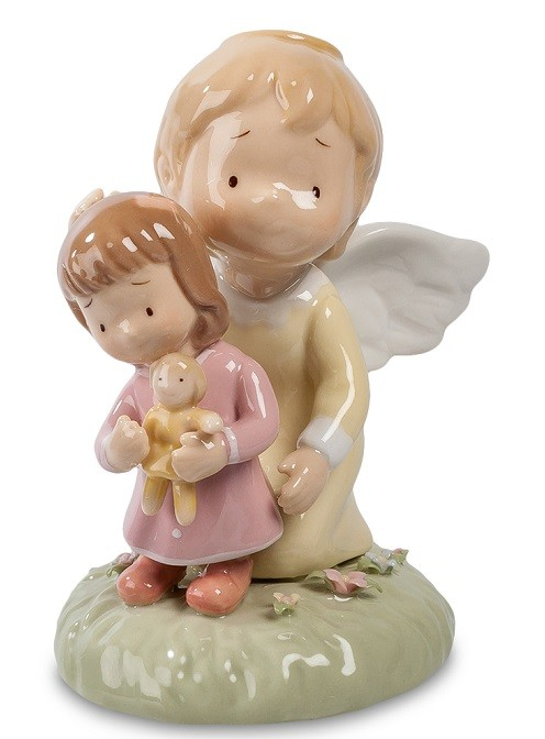 Фарфоровая статуэтка «Ангелочек»