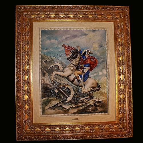 Барельеф «Наполеон»
