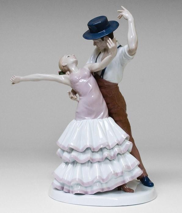 Фарфоровая статуэтка «Фламенко»