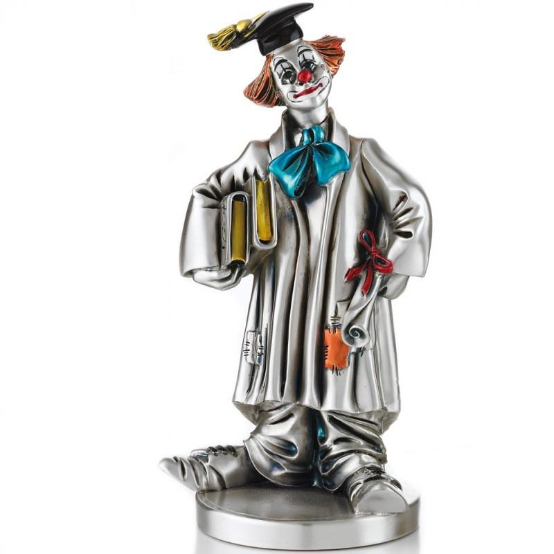 Статуэтка «Клоун в академической шапочке»